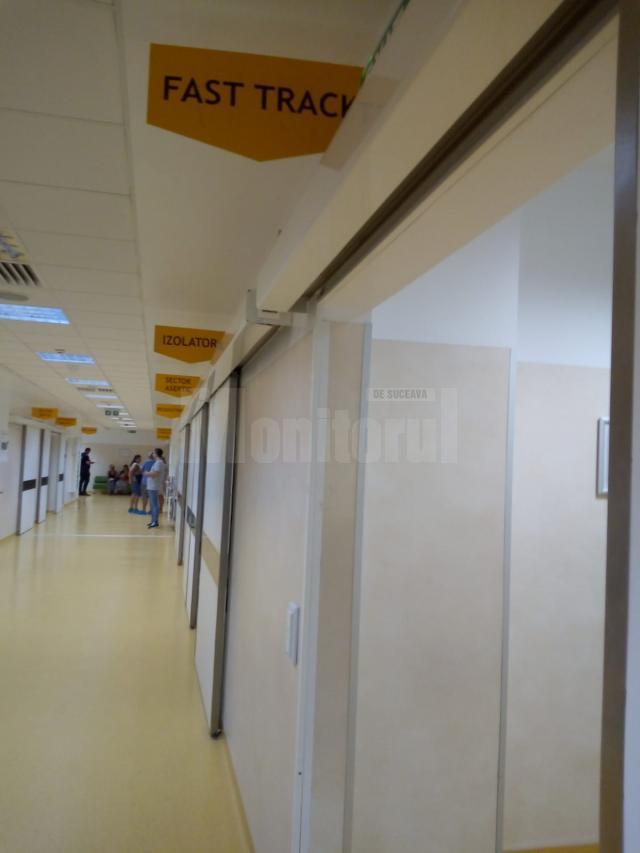 Compartiment Fast Track la UPU Suceava, destinat pacienţilor cu cod albastru şi alb