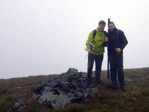 Dacre Stoker şi Radu Oprea, în drum spre castelul secret al lui Dracula din Munţii Călimani