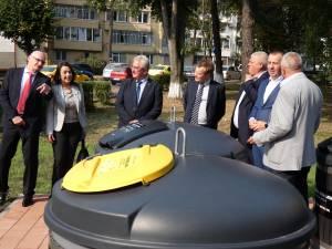 Cel mai modern sistem de colectare a gunoiului menajer a fost inaugurat la Suceava