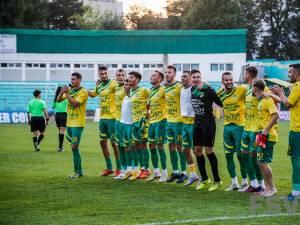 Forestierii speră să aibă motive de bucurie şi după meciul din Turul IV al Cupei României. Foto Costi Solovastru