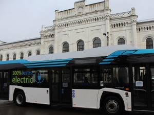 Autobuz electric Solaris, din Polonia, în teste la Suceava