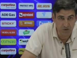 Victor Piţurcă are gânduri mari la Craiova