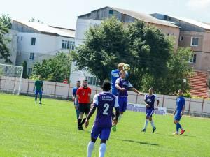 Duelurile fotbalistice dintre Fălticeni şi Rădăuţi au fost întotdeauna animate. Foto Cristian Plosceac