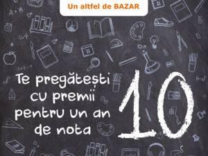 Cu Egros Suceava te pregăteşti cu premii pentru un an de nota 10