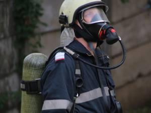 Focul a pornit de la cenușa aruncată neglijent pe malul Bistriței