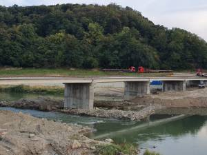 Al treilea pod peste râul Suceava, ridicat în patru luni si 20 de zile