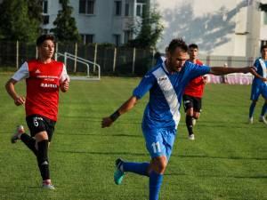 Ionuț Plămadă a reușit patru din cele cinci goluri ale rădăuțenilor. Foto Cristian Plosceac
