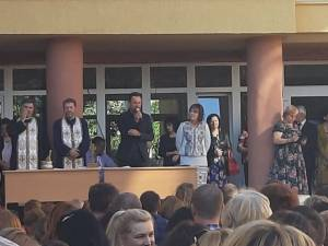 Marian Andronache, prezent la deschiderea noului an școlar