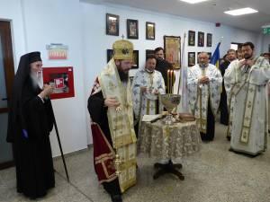 Slujba oficiată la seminar cu ocazia sfinţirii noului cămin internat și a începerii noului an şcolar