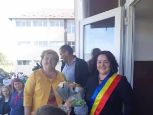 Violeta Ţăran și Gabriela Mihai au participat la deschiderea anului şcolar de la Şcoala Gimnazială Berchișești