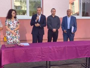 Viceprimarul Lucian Harșovschi la deschiderea anului școlar 2019 - 2020