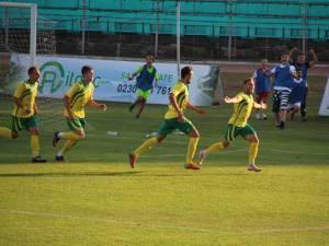 Capitanul Dudu Druga a marcat golul victoriei pentru Foresta