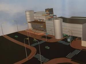 Parcare supraterana cu 200 de locuri la Primaria Suceav - proiect