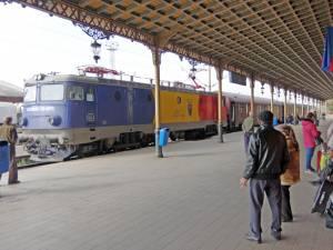 Drumul cu trenul de la Suceava la București va dura cinci ore după 15 octombrie