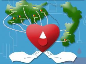 """Campanie de donare de sânge, organizată simultan în Ucraina şi în România, de """"Ziua cooperării europene"""""""
