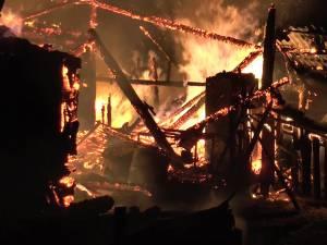 Pagube de 150.000 de lei, în urma unui incendiu într-o gospodărie din comuna Baia