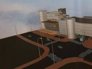 Proiectul parcării supraterane cu 200 locuri