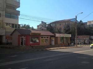 Magazinul aflat în cartierul Burdujeni