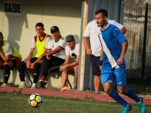 Marcator a patru goluri în runda precedentă, Ionuţ Plămadă este unul dintre atuurile rădăuţenilor în partida cu Aerostar. Foto Cristian Plosceac