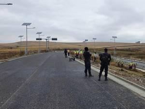 Lucrările de igienizare la terasamente sunt executate de deţinuţi