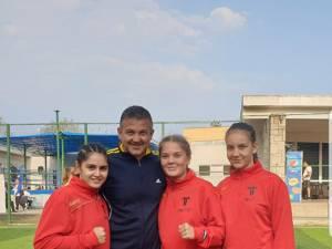 Andu Vornicu, alături de cele trei sportive medaliate