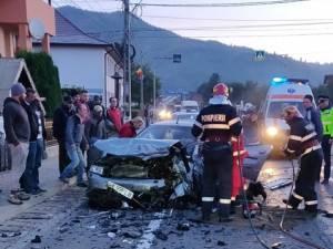 Patru persoane au fost ranite intr-un accident petrecut la Vama
