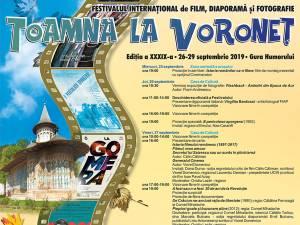 """Festivalul Internațional de Film, Diaporamă și Fotografie """"Toamna la Voroneț"""" începe pe 25 septembrie"""