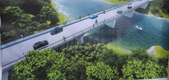 Proiectul podului de pe ruta alternativă Suceava - Botoşani