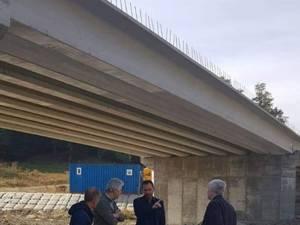 Monitorizarea lucrărilor de realizare a noului pod peste râul Suceava