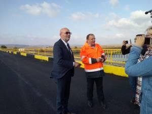 Podul de la Vereşti a fost redat circulaţiei astăzi la ora 10