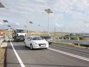 Şoseaua de centură a Sucevei, plină de maşini din primele minute de la deschidere