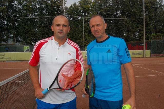 Mihai Pînzaru și Florin Popovici Dumbravă s-au întâlnit în meciul vedetă al zilei de ieri