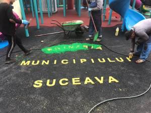 Cel mai mare loc de joacă pentru copii din Suceava, amenajat în cartierul Obcini