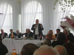 Liderul PSD Suceava, senatorul Ioan Stan, a fost prezent la întâlnirea seniorilor din partid