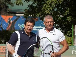 Finaliştii de la +55 de ani, Slavian Guțu și Viorel Negru