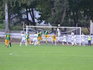 Foresta a pierdut clar duelul cu FC II Botoşani