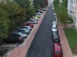 Strada Viitorului, din cartierul sucevean Obcini, refacuta prin programul de modernizare de la scara blocului