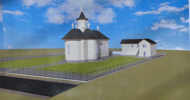 În parohia Poina - Zvoriştea se va construi o biserică închinată Sfinţilor Cuvioşi Părinţi Sila, Paisie şi Natan de la Sihăstria Putnei