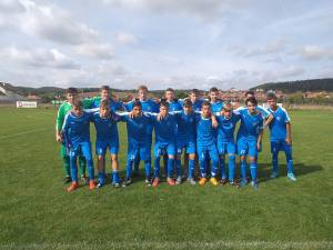 Echipa Lps Suceava din Liga Elitelor U16. Foto: Facebook Ovidiu Morariu
