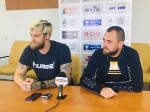 Călin Leordean şi Adrian Chiruţ au prefaţat meciul de mâine