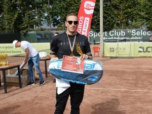 Ionel Şuiu a câştigat concursul de Nivelul 5 al turneului Tenis Partener de la Suceava