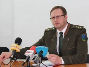 Mihai Gășpărel, inspectorul șef al Gărzii Forestiere Suceava