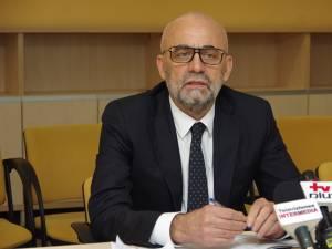 """Managerul Spitalului de Urgență """"Sfântul Ioan cel Nou"""" Suceava, Vasile Rîmbu"""