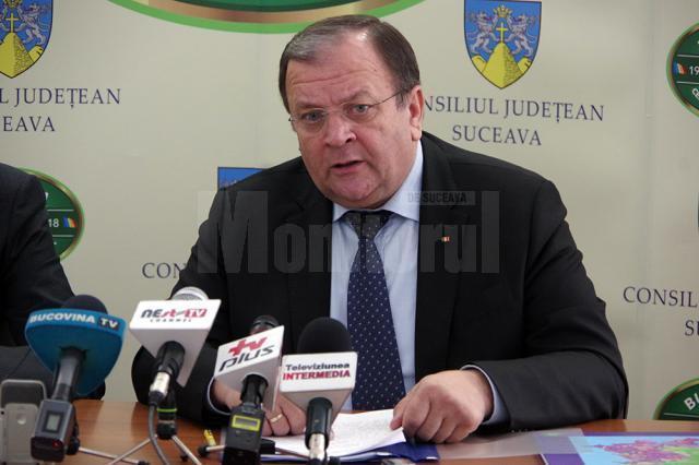 Președintele Consiliului Judeţean Suceava, Gheorghe Flutur
