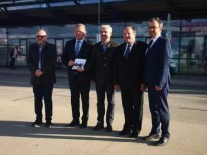 Flutur a stabilit proiecte comune cu aeroportul din Memmingen pentru promovarea curselor aeriene