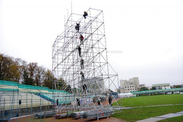 Montarea nocturnei ar trebui să înceapă cu câteva zile înainte de partida cu Dinamo