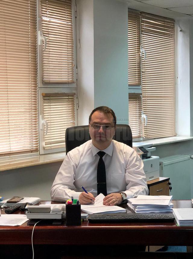Preşedintele-director general al Casei Asigurări de Sănătate (CAS) Suceava, dr. Claudiu Cobuz