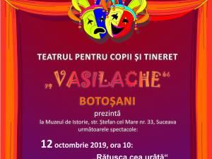 """""""Rățușca cea urâtă"""" și """"Fram ursul polar"""", cu Teatrul """"Vasilache"""", la Muzeul de Istorie Suceava"""