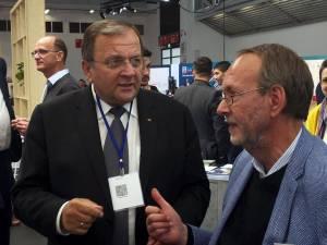 Gheorghe Flutur a promovat judeţul Suceava la Târgul de investiţii Exporeal din Germania