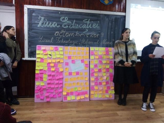 """Referate și dezbateri pe tema educației, la Liceul Tehnologic """"Ștefan cel Mare"""" Cajvana"""